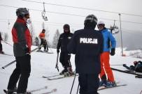 YAĞAN - Polonya'da 'Kayaklı Emniyet'