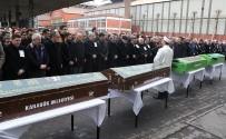 SERVİS OTOBÜSÜ - Servis Kazasında Ölenler Son Yolculuğuna Uğurlandı