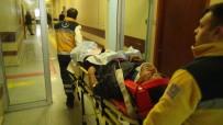 KARAKÖPRÜ - Sulama Kanalına Düşen İşçi Yaralandı