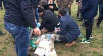 CENTİLMENLİK - Taraftarlar, 2 Futbolcuyu Hastanelik Etti