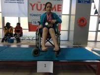 SEÇİLME HAKKI - Yüzücü Neslihan Kılıçoğlu'ndan 5 Türkiye Birinciliği, 1 İkincilik