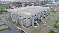 ABDI İPEKÇI SPOR SALONU - Abdi İpekçi Spor Salonu Yıkım Çalışması Havadan Görüntülendi