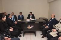 MEDENİYETLER - Başkan Ay MHP İl Teşkilatını Ziyaret Etti