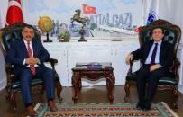 İLAHİYAT FAKÜLTESİ - Başkan Gürkan'dan Rektör Kızılay'a Övgü