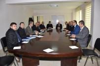 ALT YAPI ÇALIŞMASI - Başkan Kadir Albayrak Değerlendirme Toplantısına Katıldı