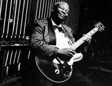 Blues müziğinin ustaları aynı sahnede