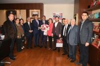 SOSYAL DEMOKRAT - CHP İl Yönetiminden Başkan Çetin'e Ziyaret