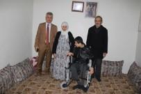 FAIK ARıCAN - Cizre Belediyesinden Engelli Gence Tekerlekli Sandalye Desteği