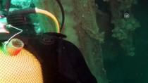 ÇANAKKALE BOĞAZı - Denizden Binlerce Metrekare 'Hayalet Ağ' Çıkardılar