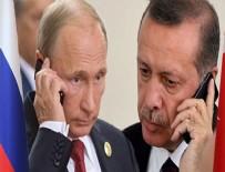 Erdoğan,  Putin ile Afrin'i görüştü