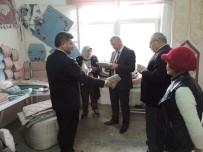 ESKIGEDIZ - Gediz Kaymakamı Muhammet Ender'den  Eskigediz Belediyesi'ne Ziyaret