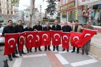 İSMAIL GÜNEŞ - Haliliye'de Binlerce Türk Bayrağı Dağıtıldı