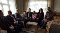 ÇAĞıRKAN - Hikaye Yarışması Birincisi Rumeysa, Kaymakam Girgin'i Evinde Ağırladı