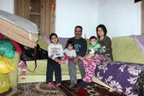 İlk Eşi Kazada, İkincisi Zatürreden Ölen Adam Evi Yanınca Çocuklarıyla Ortada Kaldı