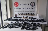 SİLAH KAÇAKÇILIĞI - İstanbul'da 182 Tabanca Ele Geçirildi
