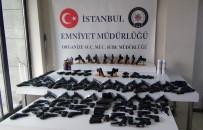 SİLAH KAÇAKÇILIĞI - İstanbul'da Silah Kaçakçılarına Operasyon Açıklaması 182 Tabanca Ele Geçirildi