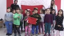 PIYES - Minik Öğrencilerden 'Zeytin Dalı Harekatı''na Destek
