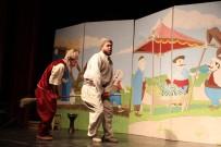 AYDıN KÜLTÜR MERKEZI - Miniklerden 'Çocuk Tiyatrosu Şenliği'ne Yoğun Katılım