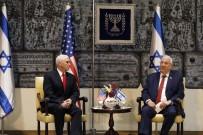 İSRAİL BÜYÜKELÇİSİ - Pence, İsrail Cumhurbaşkanı İle Bir Araya Geldi