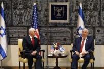 İSRAİL BÜYÜKELÇİSİ - Pence, İsrail Cumhurbaşkanı Rivlin İle Bir Araya Geldi