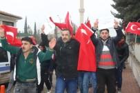 AHMET DEMİR - Suriyeli Mülteciler Afrin'de Savaşmak İçin Askerlik Şubesine Başvurdu