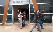 KAMYON LASTİĞİ - Aile Boyu Teker Hırsızlarından Baba Tutuklandı, Anne Ve Oğlu Serbest Bırakıldı