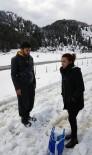 MUSTAFA ARSLAN - Alanya'da Karda Araçlarıyla Mahsur Kalan Gençler Kurtarıldı
