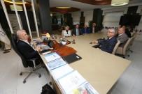 MUSTAFA BOZBEY - ARSİYAD Yönetiminden Başkan Bozbey'e Ziyaret
