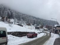 AYDER - Ayder'de Hafta Sonu Yapılacak Kardan Adam Şenliği İçin Beklenen Kar Geldi