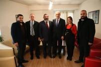 MİMARLAR ODASI - Başkan'dan Mimarlar Odası'na Ziyaret