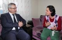 HALITPAŞA - Başkan Yaralı'dan Halitpaşa'da Ev Ziyareti