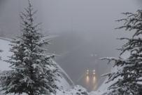 YAKIN TAKİP - Bolu Dağı'nda Yoğun Sis Etkili Oluyor