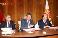 ŞERIF YıLMAZ - Burdur Özel İdare'de Sosyal Denge Tazminatı Sözleşmesi İmzalandı