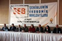 CEVDET YILMAZ - Edirne'de 'Şehirlerin Ekonomik Beklentileri Forumu' Yapıldı