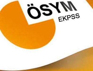 EKPSS'ye başvurular 6 Şubat'ta başlayacak
