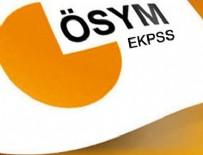 ENGELLİ MEMUR - EKPSS'ye başvurular 6 Şubat'ta başlayacak