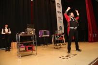GEBZE BELEDİYESİ - Gebzeli Çocuklara Karne Şenliği'nde Sihirbazlık Gösterisi