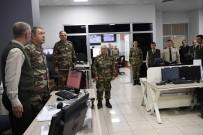 HAVA KUVVETLERİ KOMUTANI - Genelkurmay Başkanı Akar Harekât Merkezlerinde İncelemelerde Bulundu