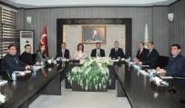 GAZIANTEP TICARET BORSASı - GTB, Oda Ve Borsa Genel Sekreterlerini Ağırladı