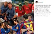 JAVIER MASCHERANO - Messi'den Arda Turan'a Veda