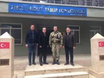 ŞAMİL TAYYAR - Milletvekili Tayyar, Afrin Sınırında Mehmetçik İle Menemen Yedi