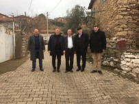 ERSOY ARSLAN - Muhtarlıklar Dairesi  Akhisarlı Muhtarlarla Buluştu