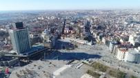 ORTODOKS KILISESI - Taksim Camii'nin İnşaatındaki Son Durum Havadan Görüntülendi