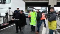 HADıMKÖY - TEM Otoyolu'nda Trafik Kazası