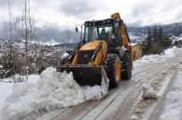 ARSLANKÖY - Toroslar'da Karla Mücadele Çalışması