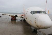 KABİN GÖREVLİSİ - Trabzon'da Pistten Çıkan Uçak Hurdaya Ayrılacak