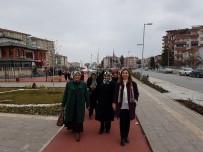 RECAİ KUTAN - AK Partili Kadınlar Yeşilyurt'taki Yatırımları İnceledi