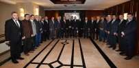 CAMİ İNŞAATI - Ankara İl Ve İlçe Müftülerinden Başkan Tuna'ya Hayırlı Olsun Ziyareti