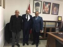 FERIT KARABULUT - Başkan Karabulut Ve Altıntaş Heyeti'nden Çetinbaş'a Tebrik Ziyareti