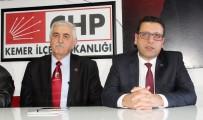 TEKIROVA - CHP'li İlçe Başkanı, Belediye Başkanını Şikayet Etti